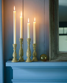Keep candles burning brightly: Trim wicks before lighting. Longer wicks produce larger flames, which create more soot.