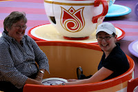In the spinning teacups