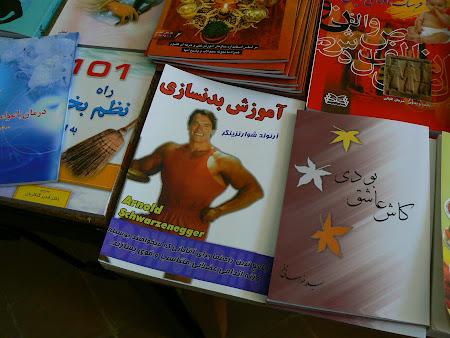 Arnold Schwarzenegger books in Iran