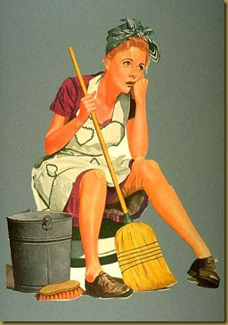 Cleaning House Clipart