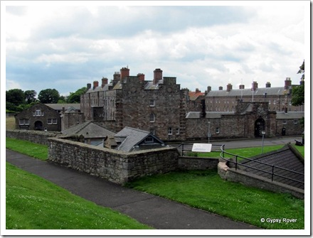 Ravensdowne Barracks built in 1717 are the oldest in Britain. Housing for 600 troops and 36 Officers.