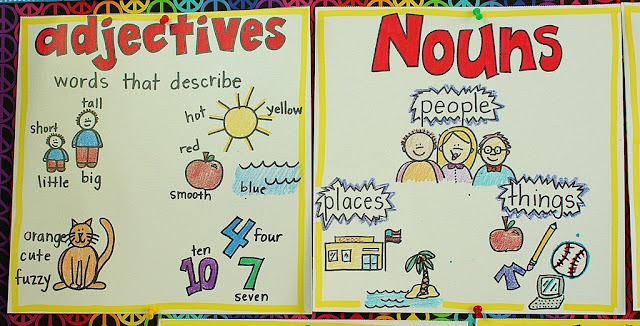 Teaching adjectives ks1