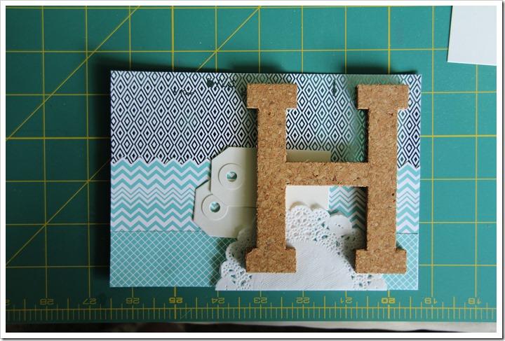 Monogram Letter Frames 9