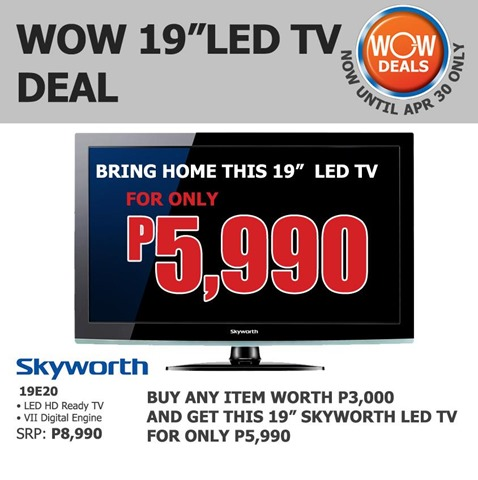 SM Appliance Promo Skyworth 19