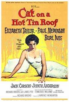 Poster La gata sobre el tejado de zinc