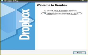 การใช้งาน dropbox