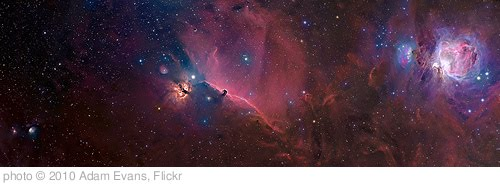 'Orion constellation panorama' photo (c) 2010, Adam Evans - license: http://creativecommons.org/licenses/by/2.0/