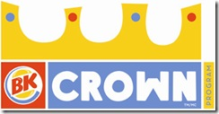 BK CROWN PROGRAM LOGO