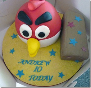 Anngry Birds Cake