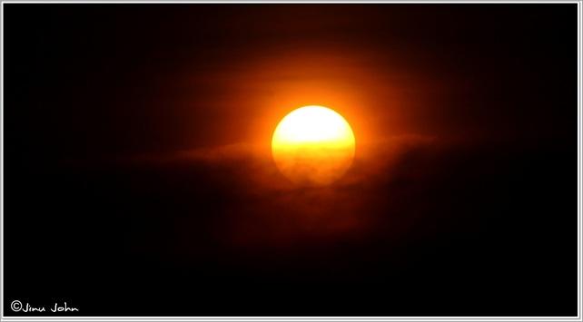 Sunrise at kodachadri