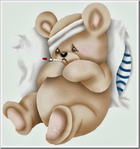 Ursinho doente