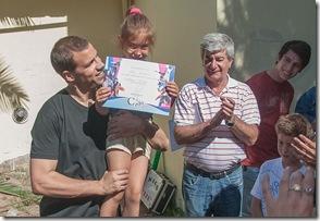 El gobierno municipal entregó diplomas a talleristas de La Costa