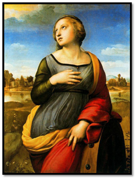 Rafael, Santa Catalina de Alejandria, 1507-08