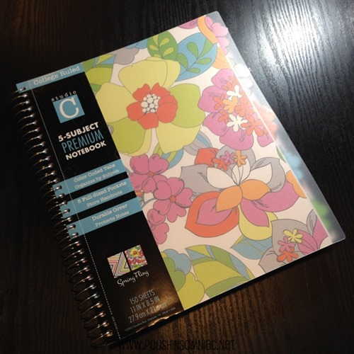 Blogging Resolution for 2014 - Keep notes organized and only use one notebook