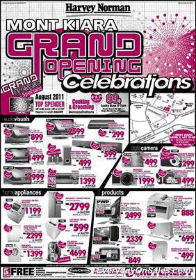 Harvey-Norman-Opening-Offer-2011-EverydayOnSales-Warehouse-Sale-Promotion-Deal-Discount