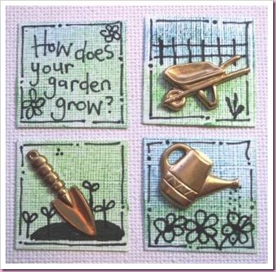 Gardening Inchies