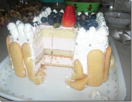torta tiramisù yogurt greco fragola