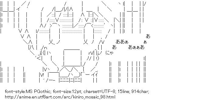 Kiniro Mosaic,Cartalet Alice,Blench