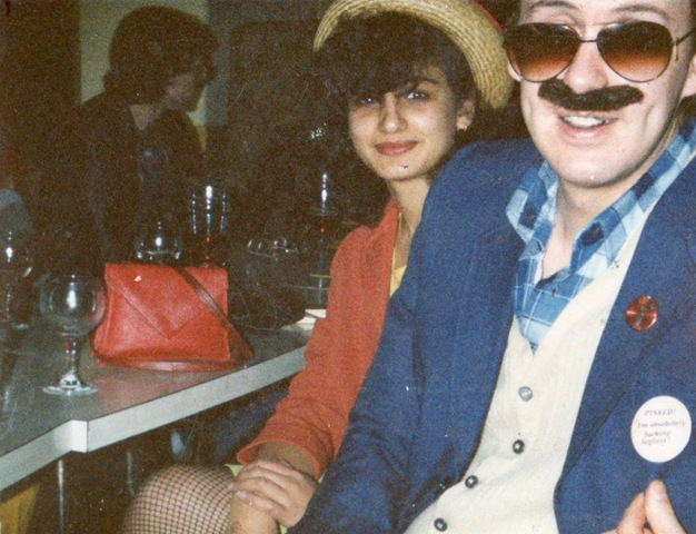 "This is our mother and father in the early 80s at a uni party. Dads doing what they do best and making you cringe. Although, we are cringing a little when we look at it, we cant help but love the elaborate styles of the 80s. We're also impressed because we think good ole mama is looking pretty fly!"" – Jordan and Gabriella, from Gabriella Vintage."