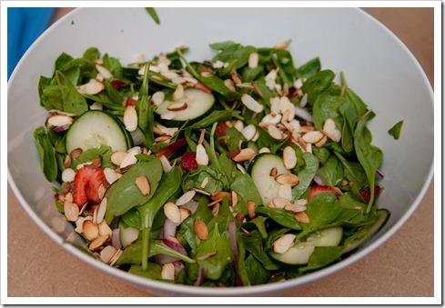 spinachstrawberrysalad5