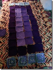 laid out squares