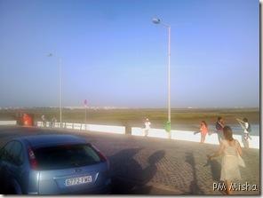 Paragem na Praia de Faro