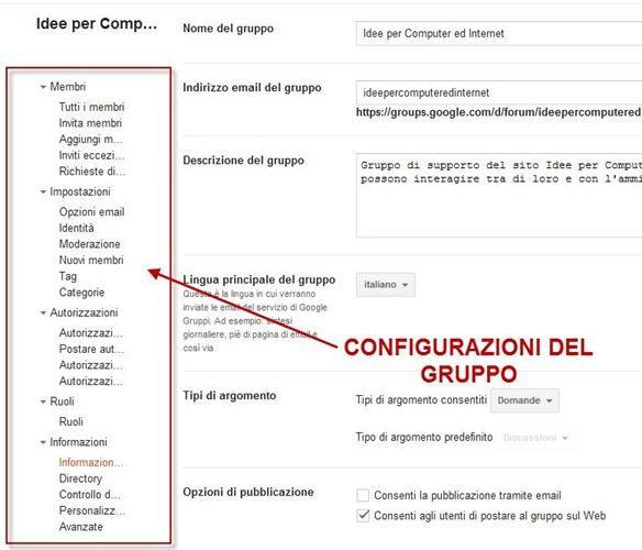 personalizzare-forum-google-gruppi