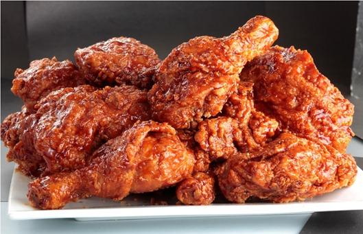 Crispy Glazed Chicken 2