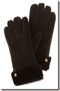 Karen Millen Sheepskin Gloves