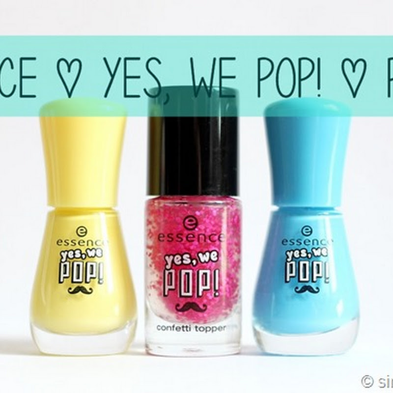 Essence | Yes, we POP! LE | Lacke (mit Tragebild)