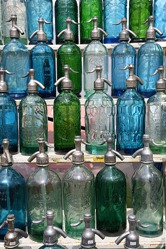 Soda Siphons at San Telmo Fair, Buenos Aires, Argentina by jlaceda, on Flickr [used under Creative Commons license]
