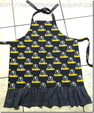 STEELERS APRON