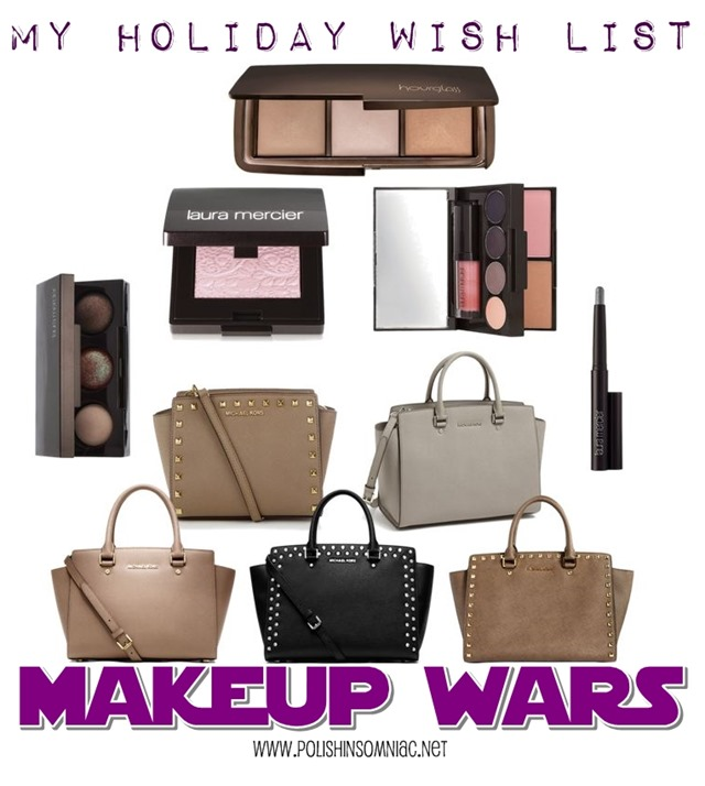 Makeup Wars - polish insomniac's Holiday Wish List