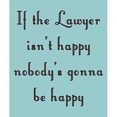 abogado feliz