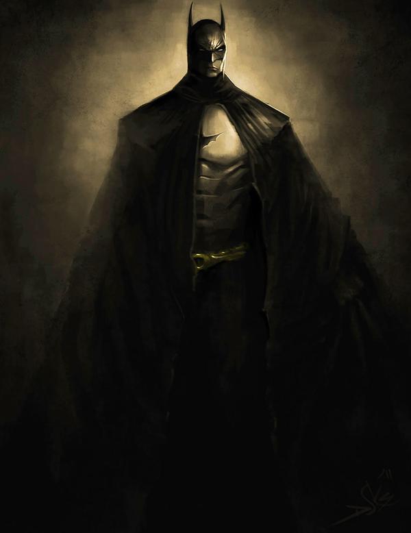 batman speed painting