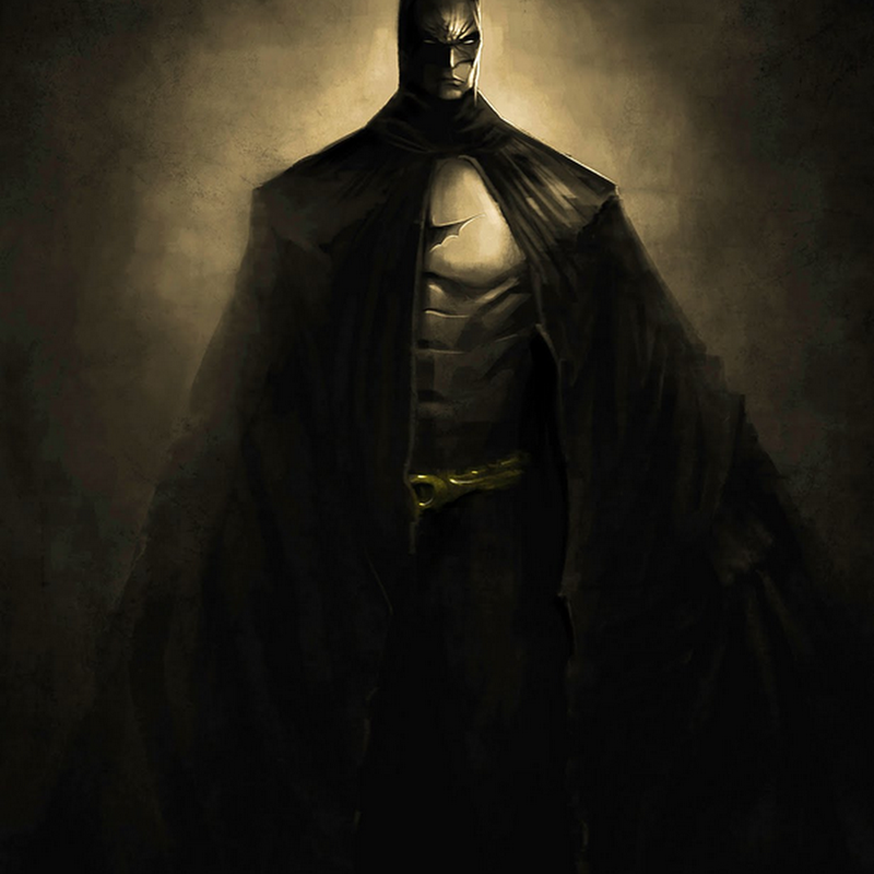 Ce tableau de Batman ralis en speed painting