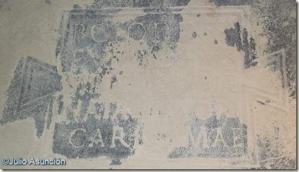Inscripción de Publio Clodio - Mausoleos romanos - Llíria
