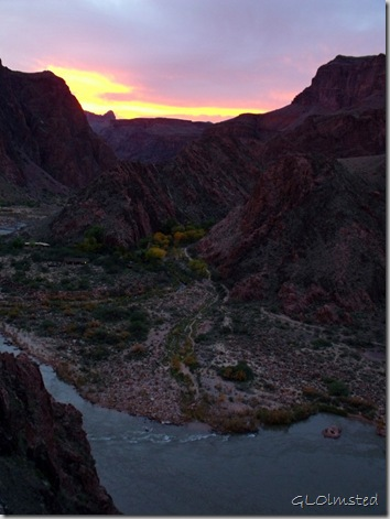 03 Sunset over NR &amp; Phantom Ranch from S Kaibab trail GRCA NP AZ (767x1024)