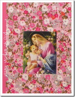 Mary Mother of God journal