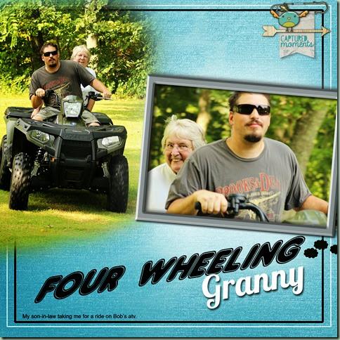 Four Wheeling Granny