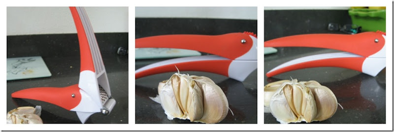 Ibis garlic press