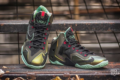 nike lebron 11 gr king of the jungle 3 06 kings pride Release Reminder: LEBRON 11 Kings Pride / King of the Jungle