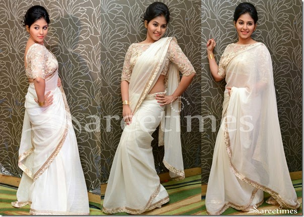 Anjali_White_Saree(1)