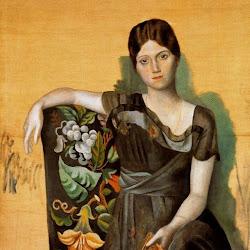 Picasso - (Pablo Ruiz Picasso) Retrato de Olga en un sillón.jpg