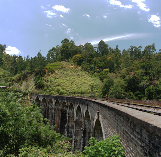 Demodara Nine Arch Bridge (also featured on the 50 rupee note)