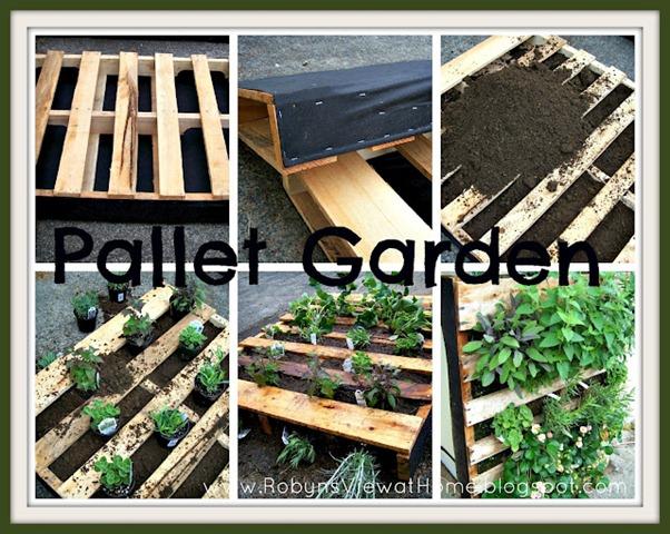 Pallet GARDEN 2 Collage