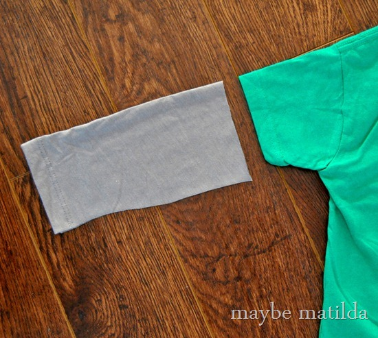 How to sew long sleeves onto short sleeve shirt