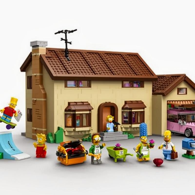 das simpsons haus von lego ist ein echtes kunstwerk spass und spiele. Black Bedroom Furniture Sets. Home Design Ideas