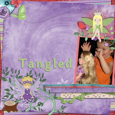 Mommy Me Time Scrapper - Believe - Tangled