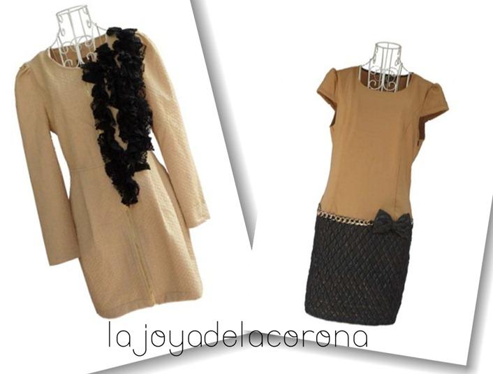 collage vestidos beige1